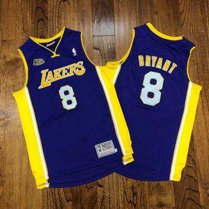 LA Lakers #8 Kobe Bryant Swingman Hardwood Jersey